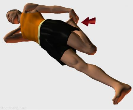 Estiramiento (stretching, streching) recomendado para:  atletismo,  senderismo,  windsurf,  escalada,  correr,  piernas,  dormir,  cuadriceps.