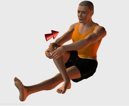 Estiramiento (stretching, streching) recomendado para:  atletismo,  senderismo,  correr,  rugby,  futbol americano,  piernas.