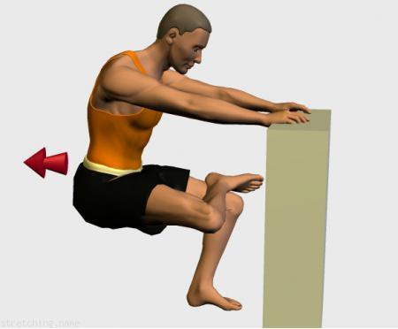 Estiramiento (stretching, streching) recomendado para:  triatlon,  correr,  cadera,  rapidos,  ciatica,  gluteo.