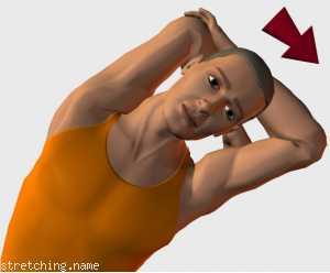 Estiramiento (stretching, streching) recomendado para:  fútbol,  baloncesto,  atletismo,  senderismo,  windsurf,  snowboard,  surf,  escalada,  kayak,  squash,  natación,  golf,  tenis,  esquí,  triatlón,  artes Marciales,  balonmano,  boxeo,  kitesurf,  padel,  esgrima,  hockey,  espalda,  dormir,  silla,  oficina,  tríceps,  intercostales.